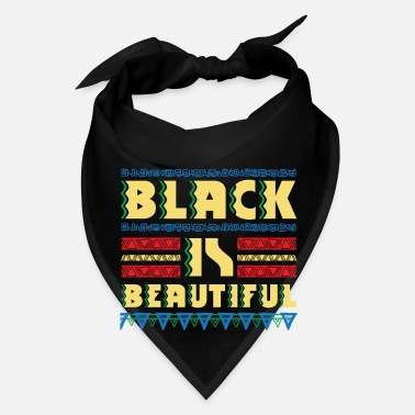 Afro Black is Beautiful - natural african gift design - Bandana