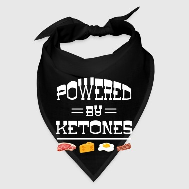 Powered by Ketones - carbohydrate energy body - Bandana