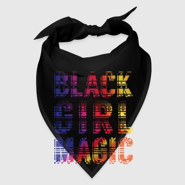 Black Girl Magic - dashiki african gift design - Bandana