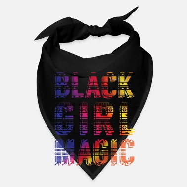 Afro Black Girl Magic - dashiki african gift design - Bandana