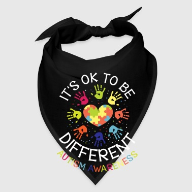It's ok to be different - Autism Awareness - Bandana