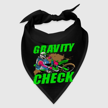 Gravity Check - Dirt Bike Motocross - Bandana