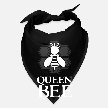 Bee Queen Bee - cute honey beekeeper - Bandana