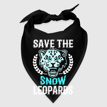 Save the Snow Leopards - animal extinction - Bandana