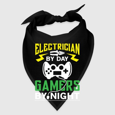 Electrician by Day Gamers by Night - Bandana