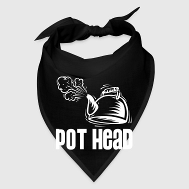 Pot Head - steam coffee & tea water boiler - Bandana