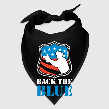 Back the Blue - Brave Police Officer - Bandana