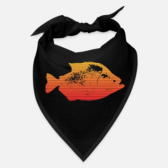 Fishing Caps - Piranha - Bandana black