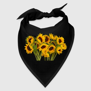 Crowd of Sunflowers - Bandana