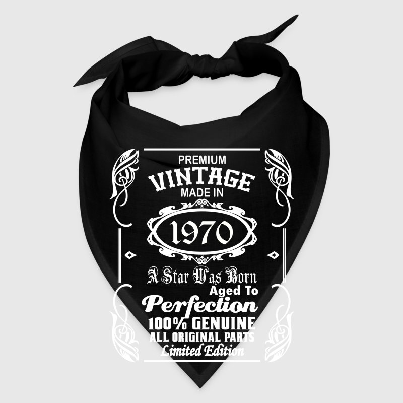 Vintage made in 1970 - Bandana
