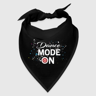 Dance Mode On - cool disco dancing design - Bandana