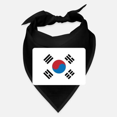 South SOUTH KOREA FLAG - Bandana