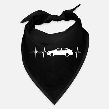 Automobile MY HEART BEATS FOR CARS! - Bandana