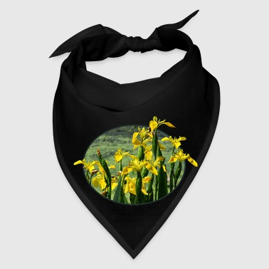 Yellow Irises Against Sky - Bandana