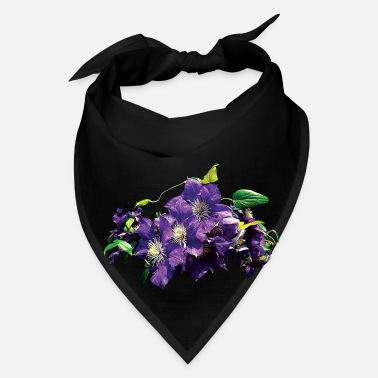Vine Purple Clematis with Vine - Bandana