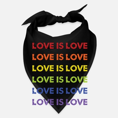 Lovely love is love - Bandana