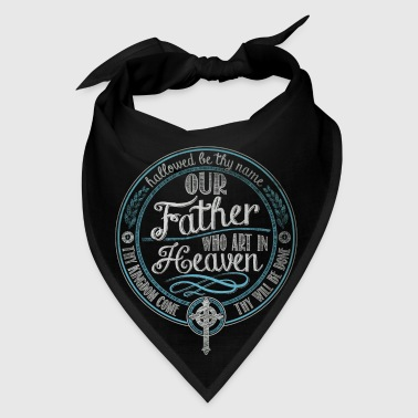 Our Father Prayer Jesus - Bandana