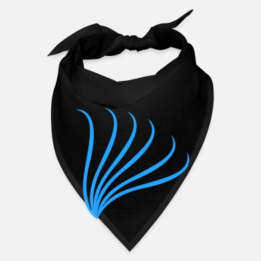 Flight abstract blue flight - Bandana