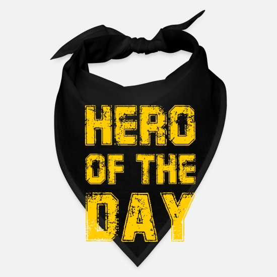 Kita Caps - Hero of the Day - Heroes - Father - Mother - Bandana black