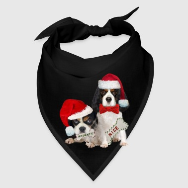 King Charles Naughty or Nice  - Bandana