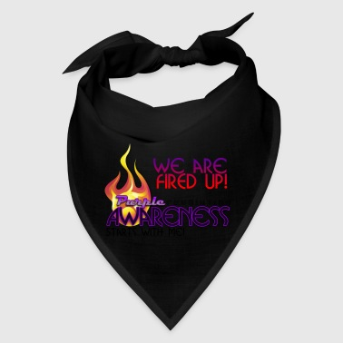 Purple Awareness Fired Up! - Bandana