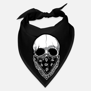 Mask Skull with Mask - Bandana