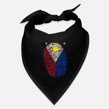 Filipino Kids Family Filipino Fingerprint - Bandana