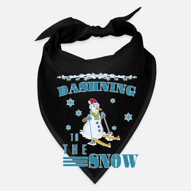 Snowing Dashing to the snow - Bandana