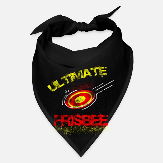 Game Caps - Frisbee Ultimate Frisbee Sport Hobby - Bandana black