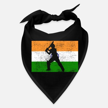 India Cricket India Indian Flag - Bandana