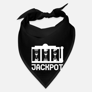 Wine wine - winegrower - alcohol - Wine Jackpot - Bandana