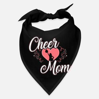 Cheers Cheer Mom Cheering Gift for Mothers - Bandana