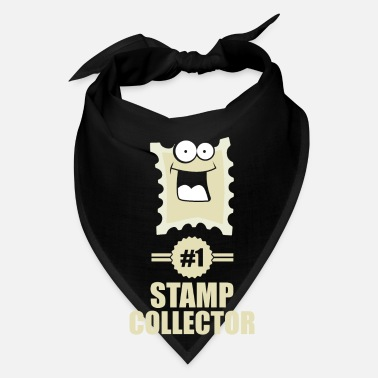 Stamp number one stamp collector - funny stamp tee - Bandana