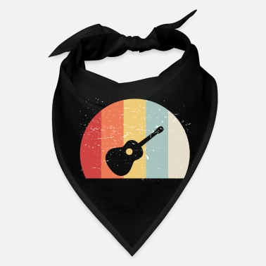 Jazz Guitar Vintage Music Band School Gift - Bandana