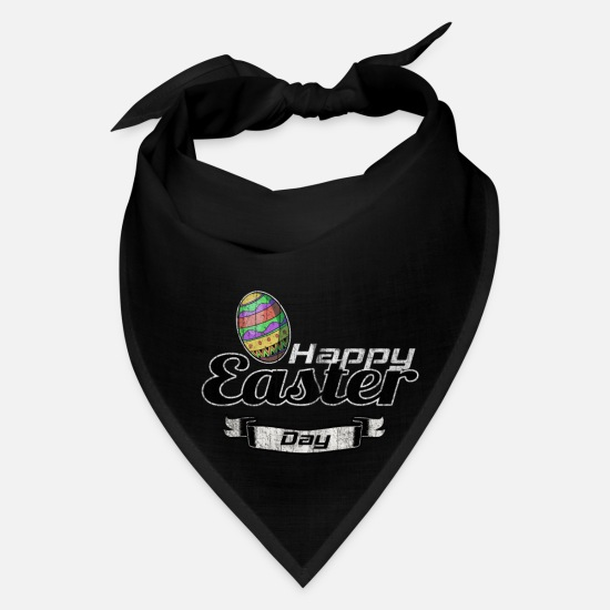 Easter Caps - Easter bunny egg rabbit - Bandana black