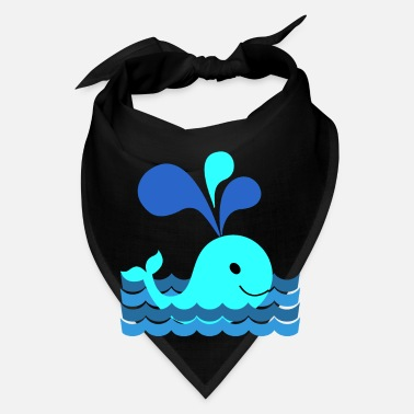 Sea Whale in the sea - Bandana