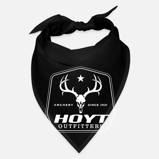 1017 Brick Squad T-shirts Caps - Archery since 1931 hoyt outfitters - Bandana black