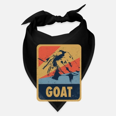 Animal Goat Animal Retro Gift - Bandana