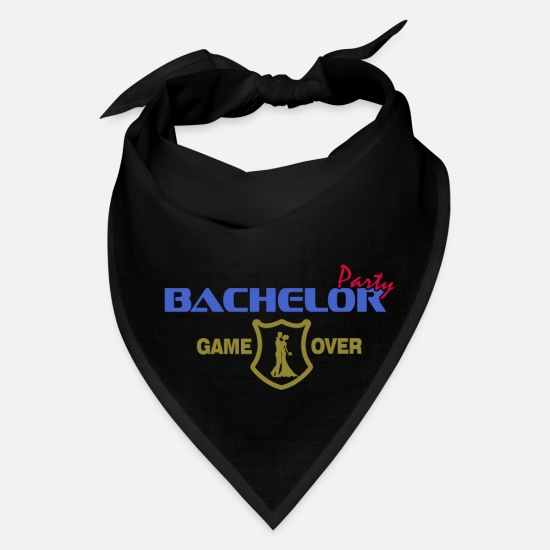 Over Caps - Bachelor Party - Bandana black