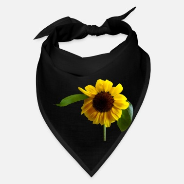 Attractive Golden Sunflower - Bandana