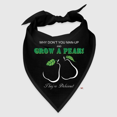Grow a Pear-dark prints - Bandana