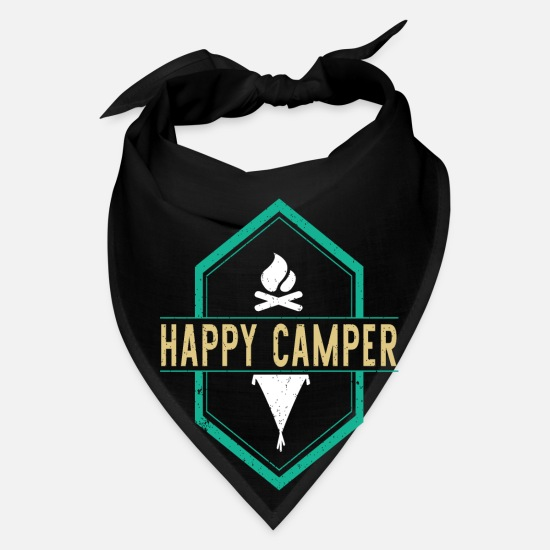 Love Caps - Happy camper - Bandana black