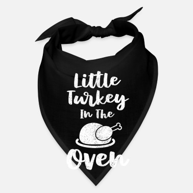 Oven Thanksgiving Little Turkey In The Oven - Bandana