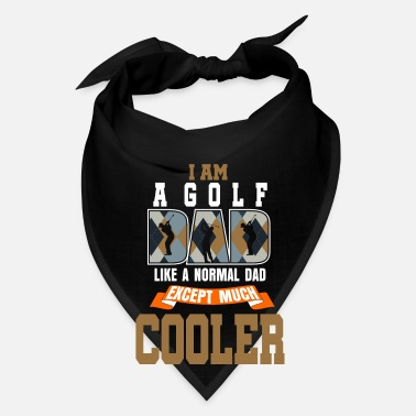 Pitch And Putt Golf Dad Father Father's day Gift Idea - Bandana