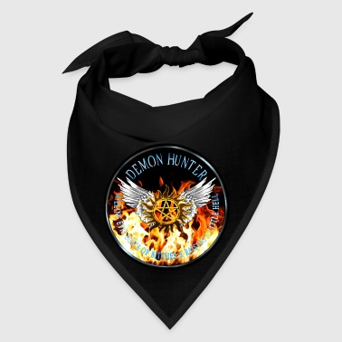 Demon Hunter  protection Symbal Flames Ring Patch  - Bandana