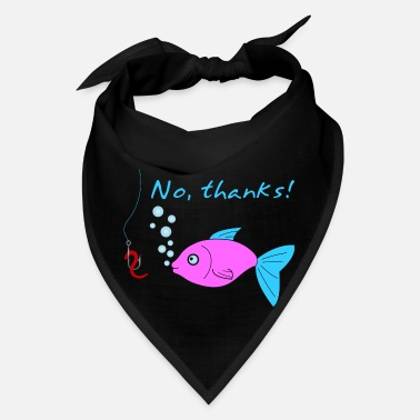Fish Hook Fish and hook - Bandana