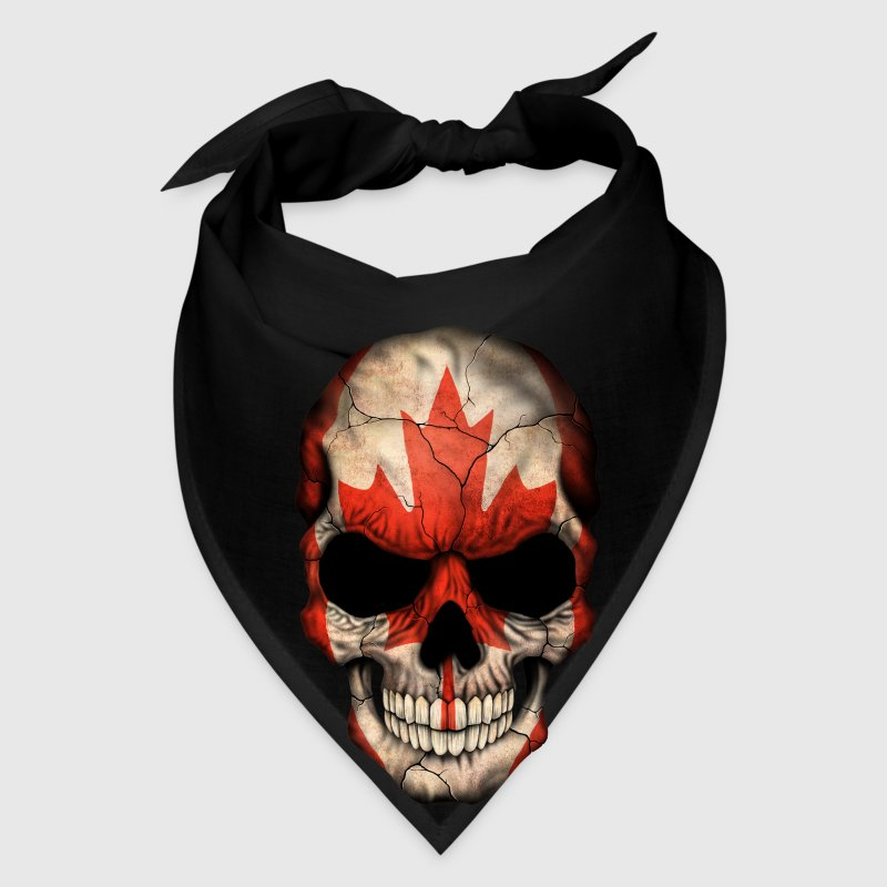canadian flag skull by uniqueartdesign spreadshirt