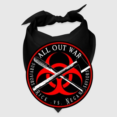 Biohazard All out War survivor vs saviors Ringer p - Bandana