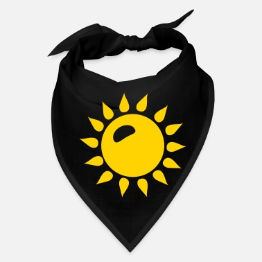 Weather Sun Sunshine Summer Icon - Bandana