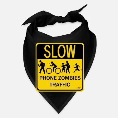 Phone Phone Zombies Traffic - Bandana